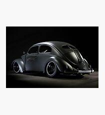 Volkswagen Beetle 1954 Top Chop Photographic Print