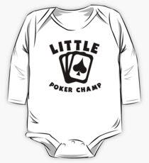 Little Poker Champ One Piece - Long Sleeve