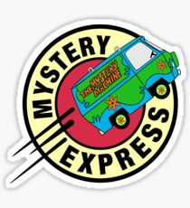 The Mystery Express Sticker