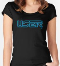 User (Light) Women's Fitted Scoop T-Shirt