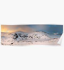 Winter finds Blue Lake, Kosciuszko National Park, NSW, Australia Poster