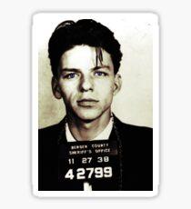 Mugshot Collection - Frank Sinatra Sticker