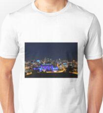 Kansas City Union Station in Blue Unisex T-Shirt