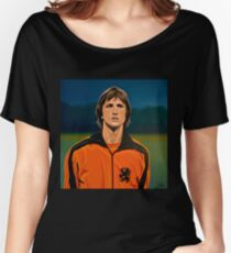 Johan Cruyff Oranje Women's Relaxed Fit T-Shirt