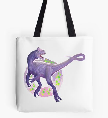 Cryolophosaurus (without text)  Tote Bag