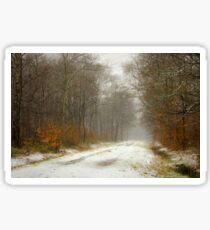 Mist and snow Sticker