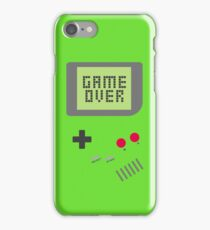 Game Over - Green iPhone Case/Skin