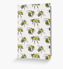 Bees Greeting Card