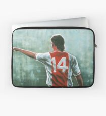 Johan Cruyff nr 14 Laptop Sleeve