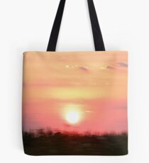 65 MPH Sunset Tote Bag