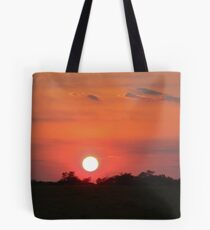 High Speed Sunset Tote Bag