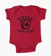 Little Poker Champ One Piece - Short Sleeve