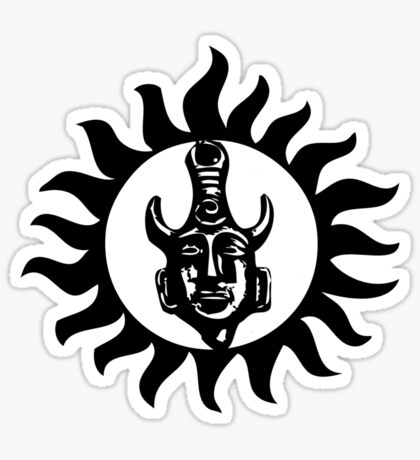 Supernatural Charms Sticker