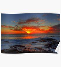Collaroy sunrise Poster
