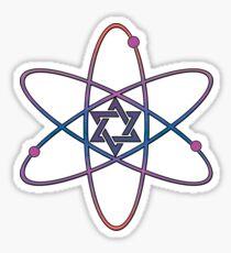 Nuclear Star Of David Sticker