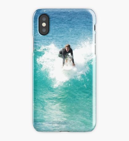Pipeline Surfer iPhone Case