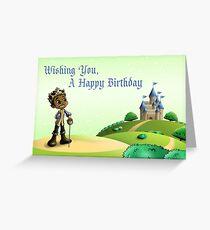 Prince Jamal Greeting Card