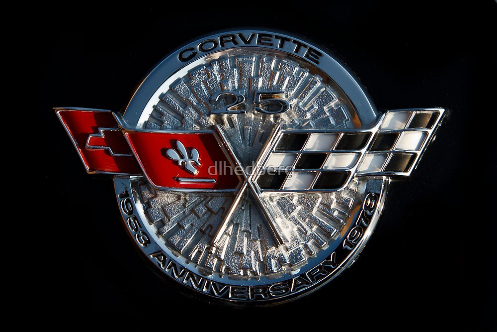 25th Anniversary Corvette Emblem by dlhedberg