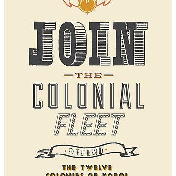 Defend The Twelve Colonies of Kobol by kellydot