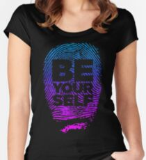 Be (Gradient Version) Women's Fitted Scoop T-Shirt