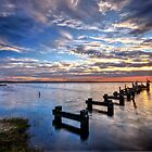Saturday Sunrise.. 23-6-12. by Warren  Patten
