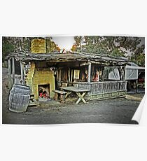 Life At The Diggings  -  Butcher's Shop Poster