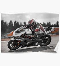 Ninja on the Track Poster