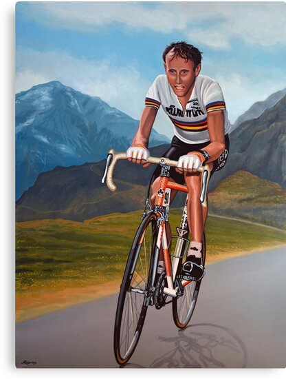 Joop Zoetemelk Painting by PaulMeijering