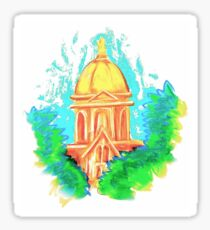 Golden Dome Sticker