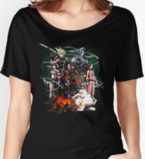 Final Fantasy VII - Collage Women's Relaxed Fit T-Shirt