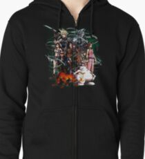 Final Fantasy VII - Collage Zipped Hoodie