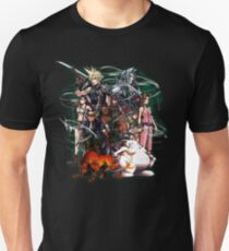 Camiseta unisex Final Fantasy VII - Collage