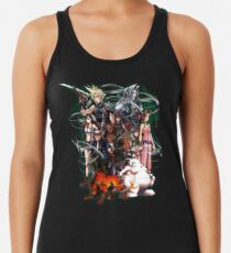 Final Fantasy VII - Collage Tanktop für Frauen