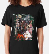 Final Fantasy VII - Collage Slim Fit T-Shirt