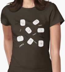 Marshmallow Time! Womens Fitted T-Shirt