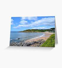 Langland Bay, Gower Greeting Card