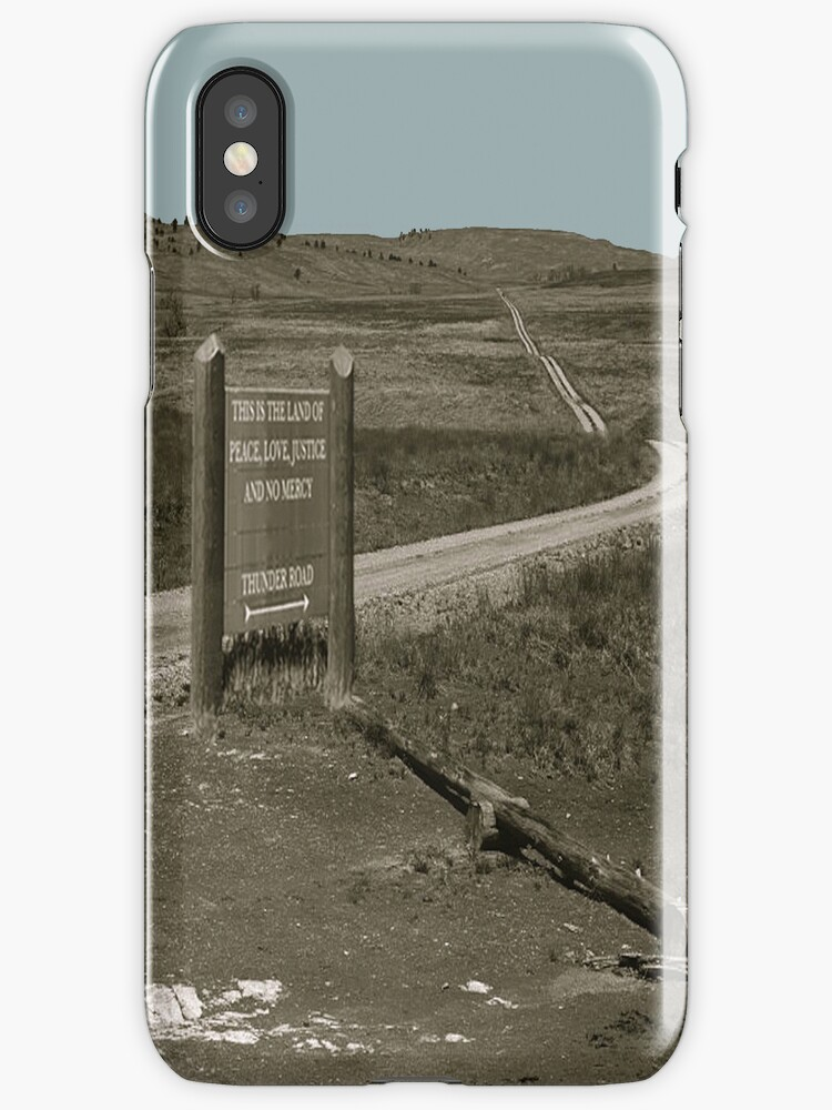 Thunder Road [Print, Tee, Sticker, and Cases] by MTKlima