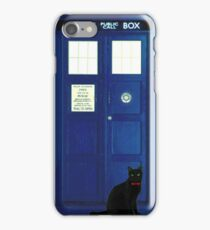 Doctor Mew (no text) iPhone Case/Skin