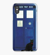 Doctor Mew (no text) iPhone Case