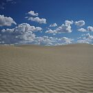 Sand Dune and Blue Sky by kennedywesley