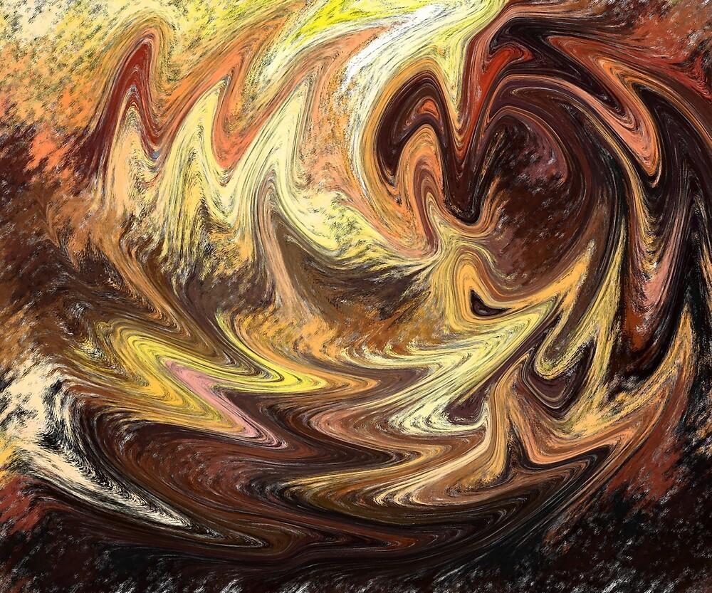 Terrestrial Brush Strokes  by Irina Sztukowski