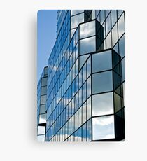Glass office building. Canvas Print