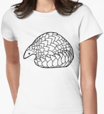 Save the Pangolins Women's Fitted T-Shirt