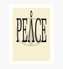 Peace 2 Art Print