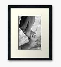 Father's Love Framed Print