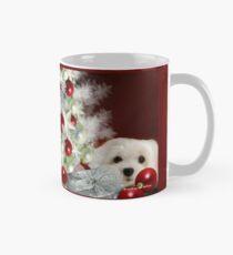 Schneeglöckchen der Malteser zu Weihnachten Tasse (Standard)