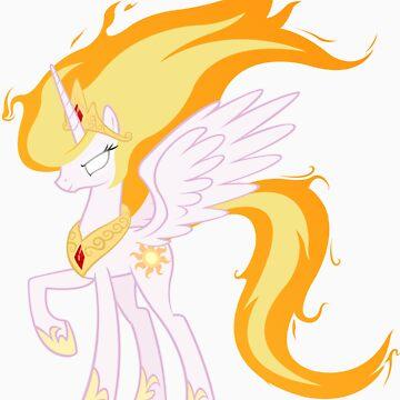 Princess Celestia is powered up! by Marmbo