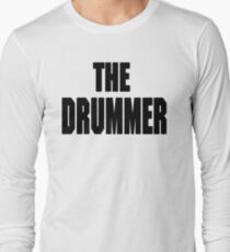 THE DRUMMER (DAVE GROHL / TAYLOR HAWKINS) Long Sleeve T-Shirt