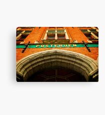 Post Office Canvas Print