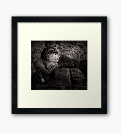 Barrow Boy Framed Print